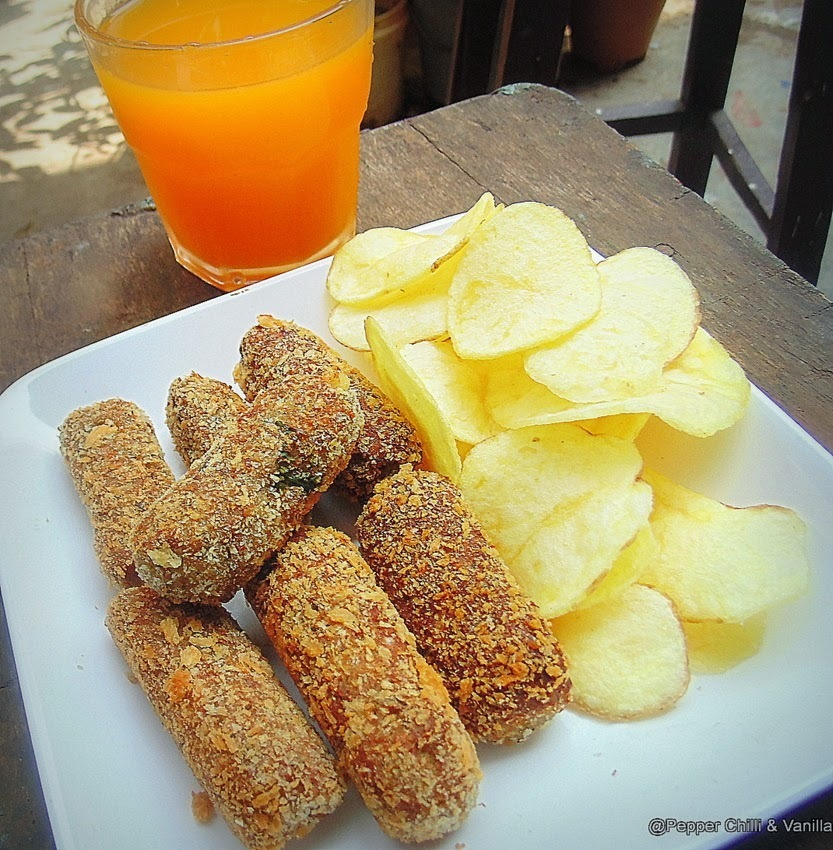 Chicken Croquettes - A guest post by Gloria of Pepper Chilli and Vanilla