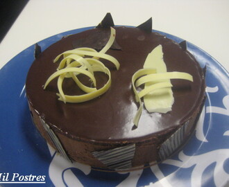 Tarta Mousse de Nutella y chocolate negro