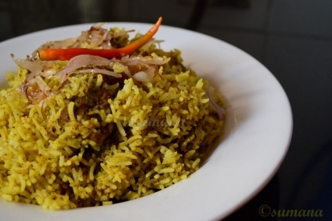 Coorg Chicken Pulao