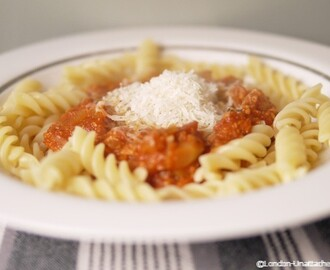 Low Calorie Turkey Bolognese – A 5:2 Diet Recipe