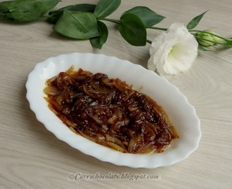 Cebolla caramelizada - How to caramelize onion