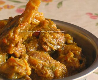 Mangalore Lamb curry