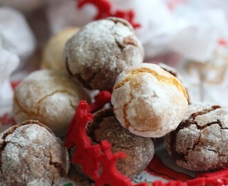 Christmas Gifts 2013 – Amaretti And Chocolate Amaretti Biscuits