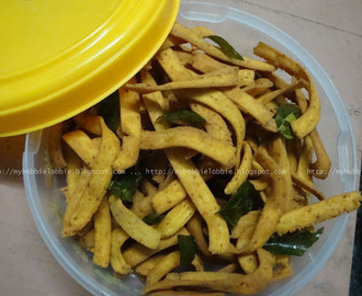 Ribbon Pakoda - A Crunchy Snack to munch on