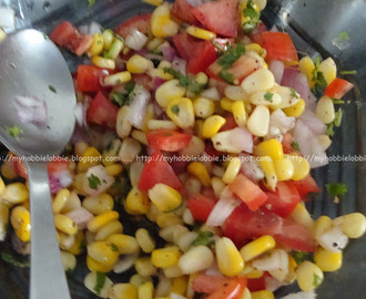 Salads at the Barbecue Party #1 - Easy Corn Salsa
