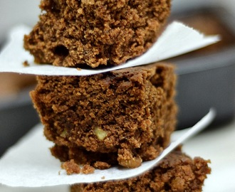 Eggless Brownies in Microwave