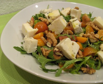 Anti-Rabbit Salad with Honey Mustard Dressing