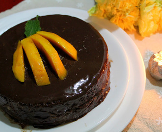 Mango Cake with Truffle