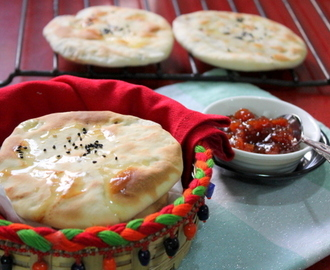 Aaloo Onion Kulcha for Indian Cooking Challenge