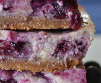 Blueberry Cream Cheese Bars