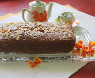 Eggless Orange and Almond Cake