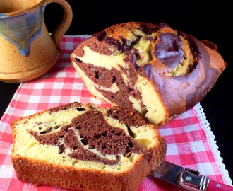 Condensed Milk, Cocoa and Olive Oil Marble Cake + Depeche Mode