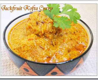 Kathal Kofta.. (Jack-Fruit Dumplings In a Tangy Yoghurt Curry)