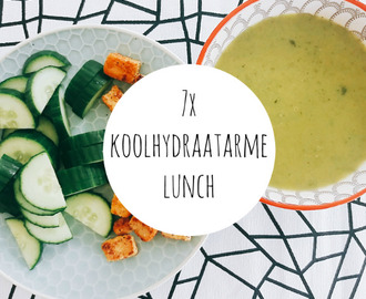 7 x koolhydraatarme lunch