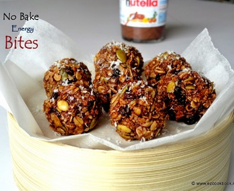 No-Bake Museli Energy Bites Recipe | Ezcookbook