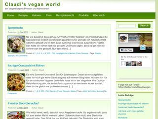 Claudi's vegan world