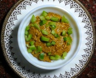 Capsicum And Flax Seeds Chutney