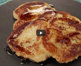 Paneer Pancake Recipe Video