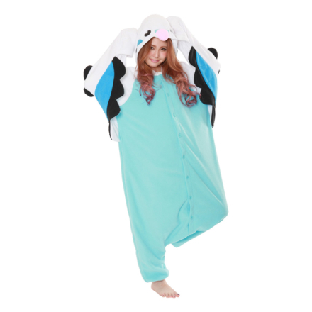 Undulat turkos kigurumi - medium