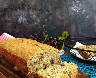 Eggless Banana Walnut Cake Recipe Microwave