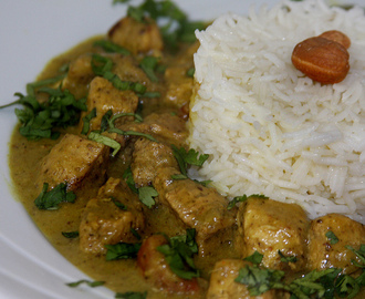 Curry Mixto de Pollo y Cerdo