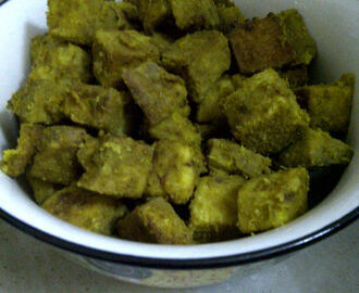 Suran (Elephant Foot Yam) Stir-fry