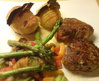 Pepperkrydret tournedos