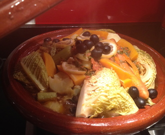 A tagine of seasonal vegetables