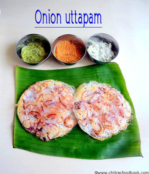 KADAI ONION UTTAPAM RECIPE/VENGAYA DOSAI-DOSA RECIPES