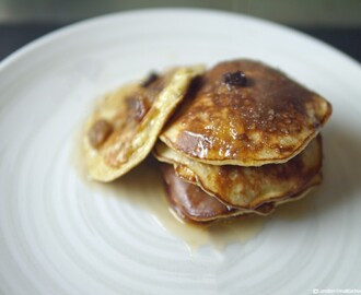Three Ingredient Banana Pancakes 5:2 Diet Fast Recipe: