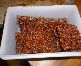 Chocolate Rice Krispie Squares recipe