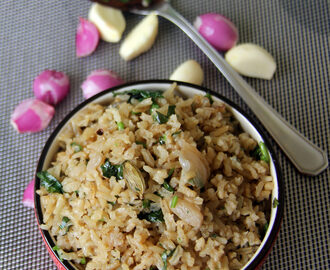 Pearl Onion Pulav - Shallots pulav - Small Onion Pulav - simple one pot meal - Kids friendly rice recipe