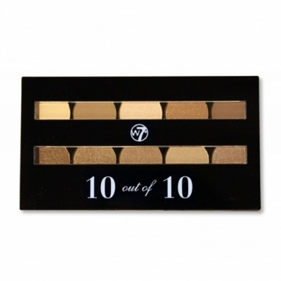 W7 Perfect 10 Out Of 10 Brown Eye Shadows 10 g