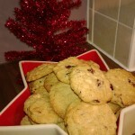 Christmas Baking has begun! Nigella's White Chocolate and Cranberry Cookies