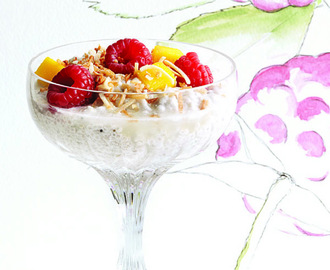 Sweet Chia and Coconut Milk Yummy Recipes