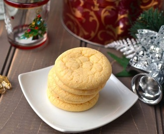 Custard Cookies (Eggless recipe)