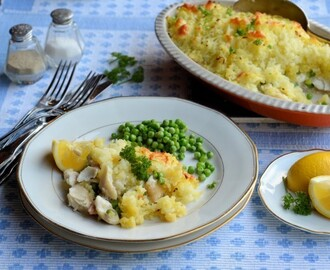 #FishFight Haddock: Easy Cheesy Family Fish Pie Recipe for the 5:2 Diet (300 calories)
