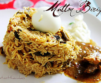 Mutton Biriyani - Easy Pressure Cooker Method