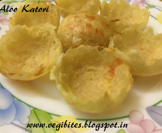 Healthy Aloo Katori (Potato Bowls)