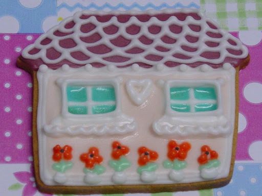 ROMANTICA Y CAMPESTRE, decorar galletas con amor