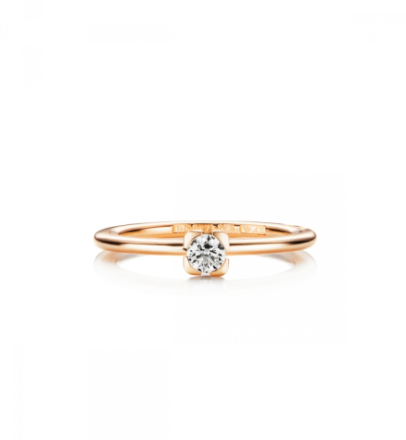 Love Bead Wedding Ring Guld 0,19 ct - 19,5 - 19,5