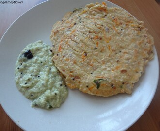 Vegetable oats dosa recipe ( break fast item )Healthy recipes