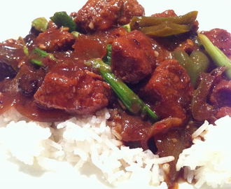 Slow-cooker recipe: Beef in black bean sauce