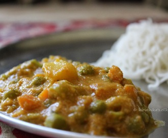 Veg Kurma / Mixed Vegetable Korma