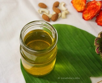 Preparation of Ghee or Clarified Butter / Home Made Ghee