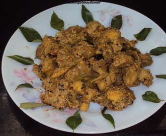 Vazakka dry curry/ Raw banana dry curry