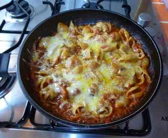 Pasta, Bacon & Cheese bake