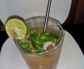 Summer Special - Ginger and Mint Punch