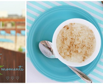 A melhor receita de arroz doce! • The best recipe for rice pudding!