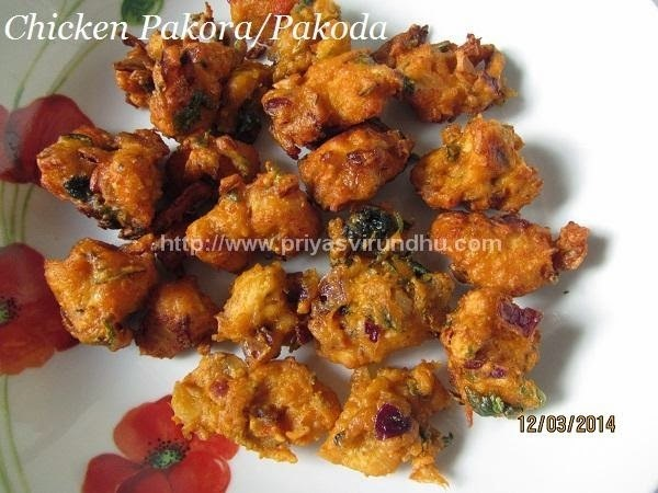 Chicken Pakora/Pakoda